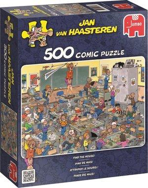 Vang de muis! - Jan van Haasteren Puzzel (500)