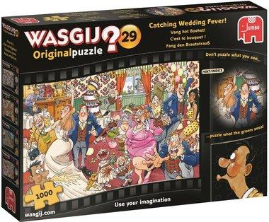 Wasgij Original Puzzel (#29): Vang het Boeket! (1000)