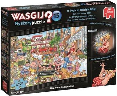 Wasgij Mystery Puzzel (#15): Een echt Britse BBQ! (1000)