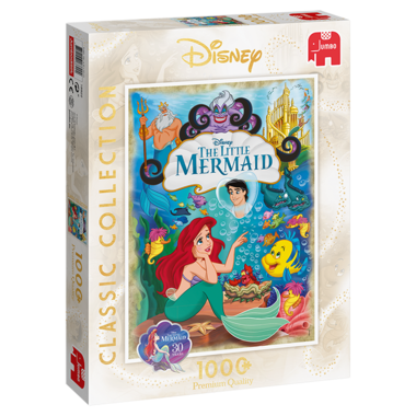 Disney Classic Collection: The Little Mermaid - Puzzel (1000)