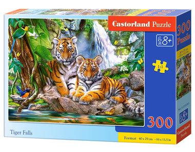 Tiger Falls - Puzzel (300)