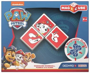 MagiCube Paw Patrol Marshall, Rubble and Zuma