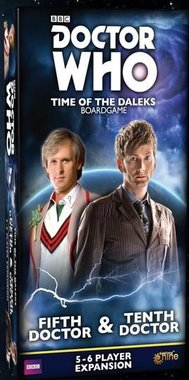 Doctor Who: Time of the Daleks - Fifth Doctor & Tenth Doctor