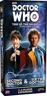 Doctor Who: Time of the Daleks - Second Doctor & Sixth Doctor