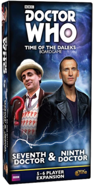 Doctor Who: Time of the Daleks - Seventh Doctor & Ninth Doctor