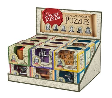 Great Minds: Metal and Wooden Puzzle
