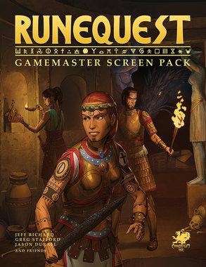 RuneQuest: Gamemaster Screen Pack
