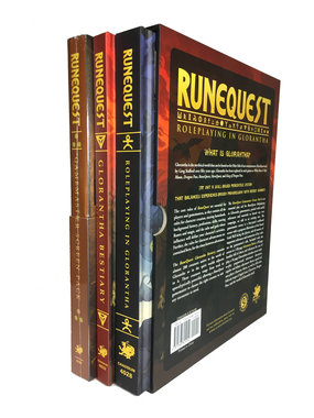 RuneQuest: Roleplaying in Glorantha [SLIPCASE SET]