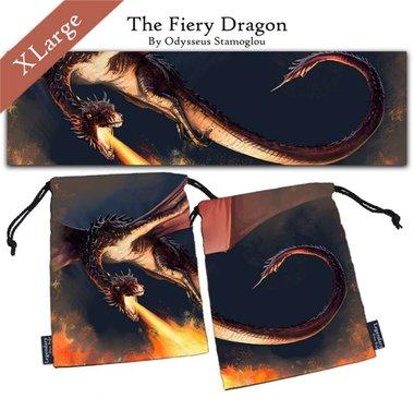 Legendary Dice Bag XL: The Fiery Dragon