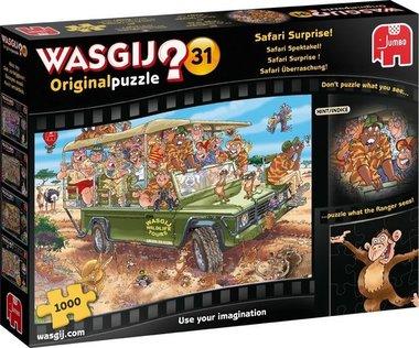 Wasgij Original Puzzel (#31): Safari Spektakel! (1000)