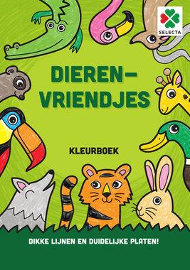 Dierenvriendjes Kleurboek