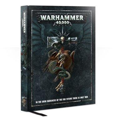 [GEMIDDELD BESCHADIGD] Warhammer 40,000 - Rulebook 8th Edition (Hardcover)