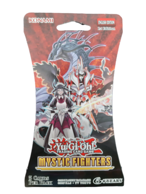 Yu-Gi-Oh! Mystic Fighters (Sleeved Booster)