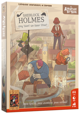 Adventure By Book: Sherlock Holmes - Jong Talent van Baker Street