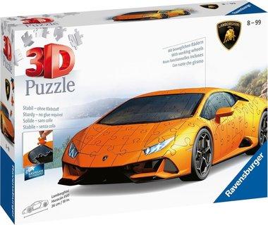 Lamborghini Huracán EVO - 3D Puzzel (140)