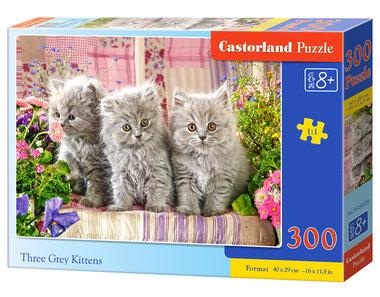 Three Grey Kittens - Puzzel (300)