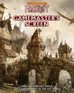 Warhammer Fantasy RPG: Gamemasters Screen