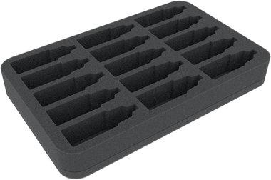 Foam Tray for 15 Color Bottles (Feldherr)