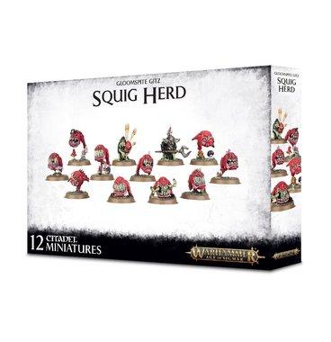 Warhammer: Age of Sigmar - Gloomspite Gitz Squig Herd