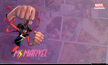 Marvel: Champions - Ms. Marvel Game Mat