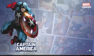 Marvel: Champions - Captain America Game Mat