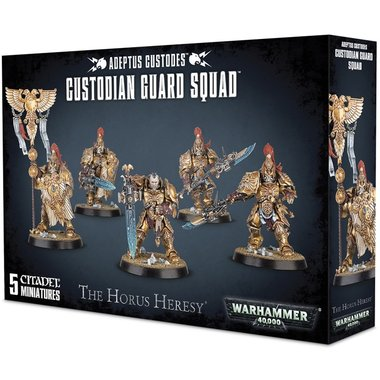 Warhammer 40,000 - Adeptus Custodes Custodian Guard Squad