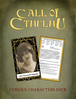 Call of Cthulhu: Keeper Deck - Curious Characters Deck