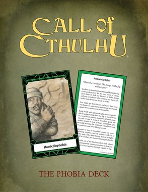 Call of Cthulhu: Keeper Deck - The Phobia Deck