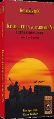De Kolonisten van Catan: Kooplieden en Barbaren (Uitbreidingsset 5/6 spelers) [OUDE VERSIE]