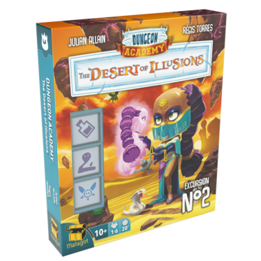 Dungeon Academy: The Desert of Illusions (Excursion 2)