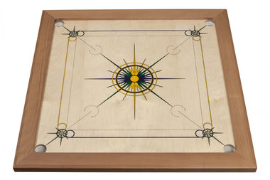 Carrom Superior (Blue/Yellow/Green)