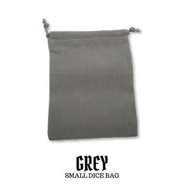 Small Suede-Cloth Dice Bag (Grey)