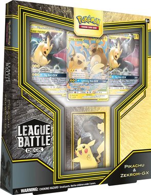 Pokémon: League Battle Deck (Pikachu & Zekrom-GX)