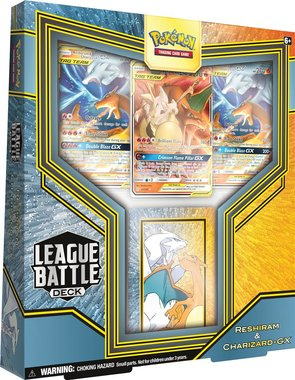 Pokémon: League Battle Deck (Reshiram & Charizard-GX)