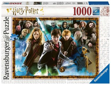De tovenaarsleerling Harry Potter - Puzzel (1000)