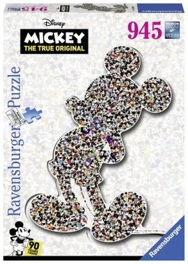 Shaped Mickey - Puzzel (1000)