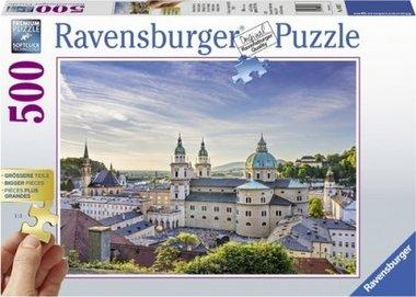 Salzburg, Oostenrijk - Puzzel (500XL)