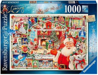 Kerstmis komt eraan! - Puzzel (1000)