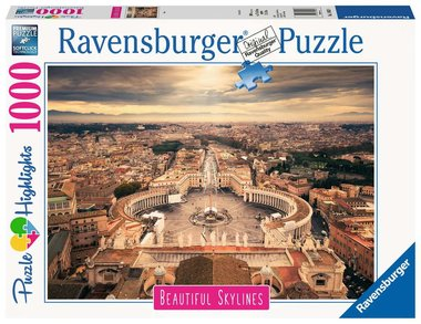 Beautiful Skylines: Rome - Puzzel (1000)