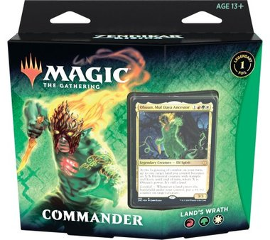 MTG: Zendikar Rising Commander (Land's Wrath)