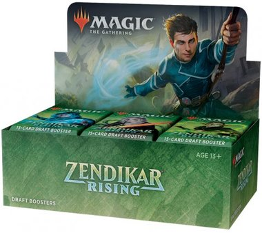MTG: Zendikar Rising Draft Boosterbox