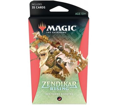 MTG: Zendikar Rising Theme Booster (Red)