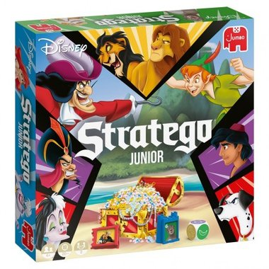 [GEMIDDELD BESCHADIGD] Stratego Junior Disney