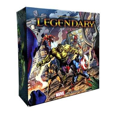 [GEMIDDELD BESCHADIGD] Legendary: A Marvel Deck Building Game