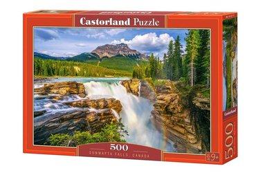 [LICHT BESCHADIGD] Sunwapta Falls, Canada  - Puzzel (500)