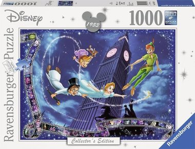 Disney Collector's Edition: Peter Pan - Puzzel (1000)