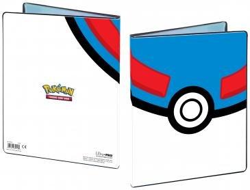 Great Ball 4-Pocket Portfolio for Pokémon