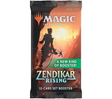 MTG: Zendikar Rising Set Booster