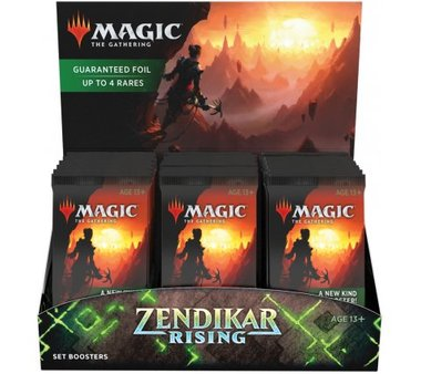 MTG: Zendikar Rising Set Boosterbox