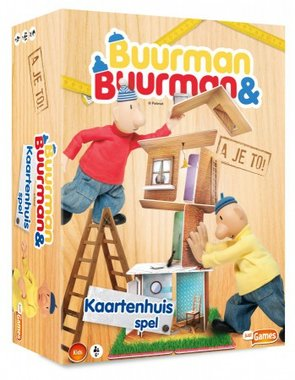 Buurman & Buurman: Kaartenhuisspel